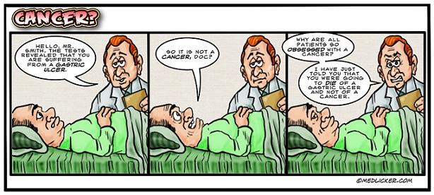 Medical Comic: Cancer