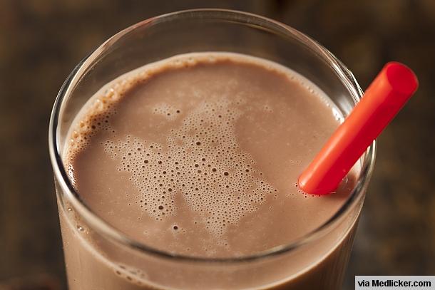 Čokoládové mléko z kakaa