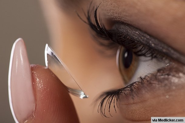 Risks associated with contact lens wear