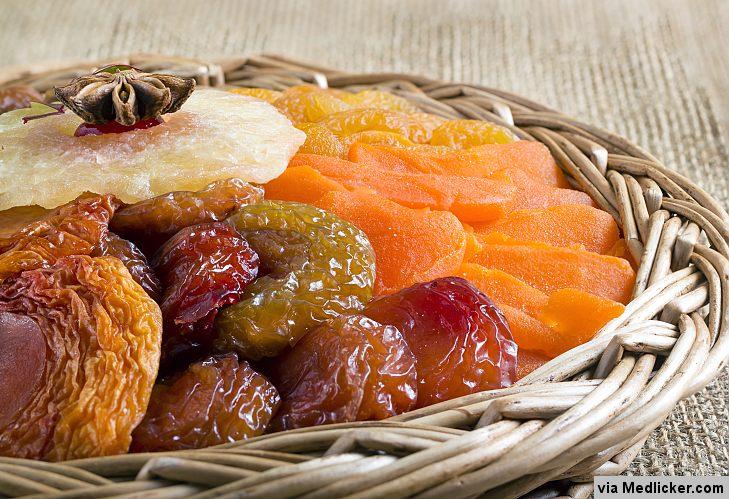 Mélange de fruits secs