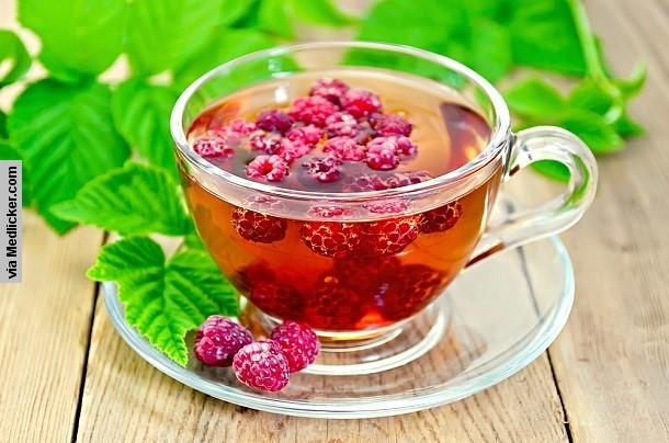 Čaj z listov ostružiny malinovej