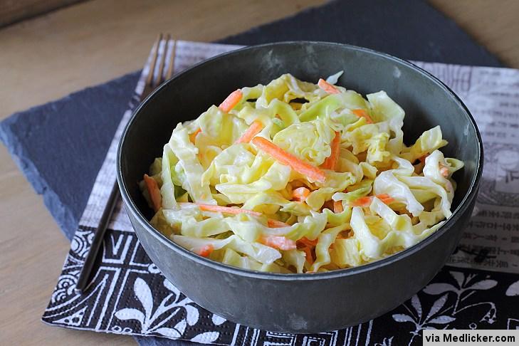 Jak připravit výborný zelný salát?