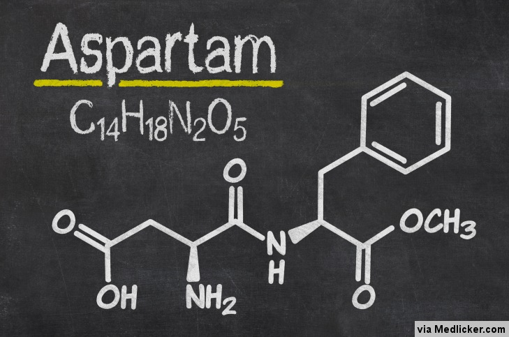 Aspartame Chemical Structure