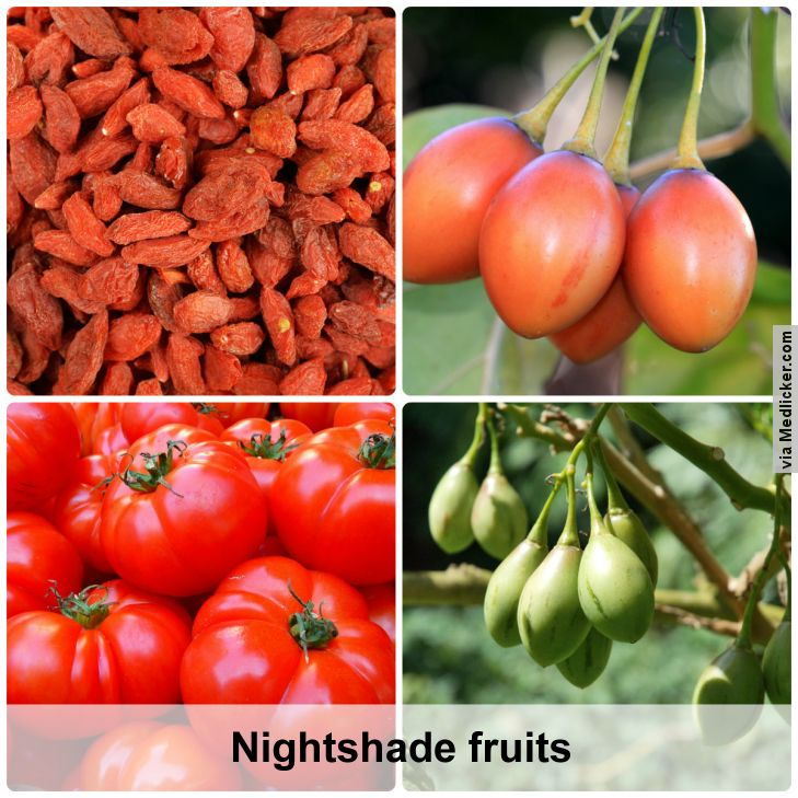 Nightshade fruits