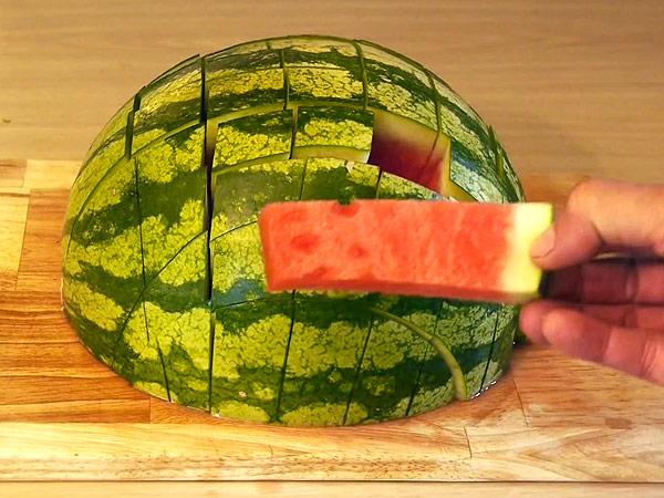 Jak nakrájet meloun?