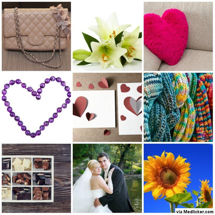 Dárky k výročí svatby - rok 1 až 9