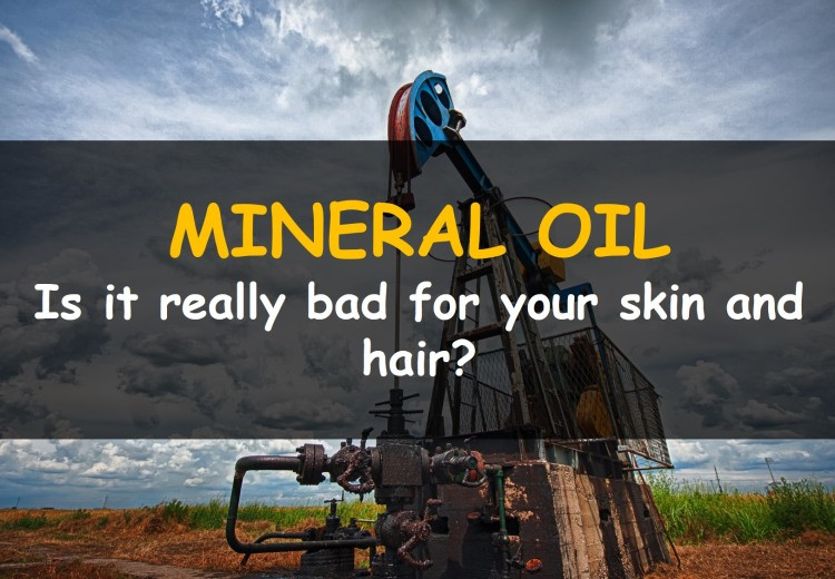 Is Mineral Oil Bad for Skin and Hair?
