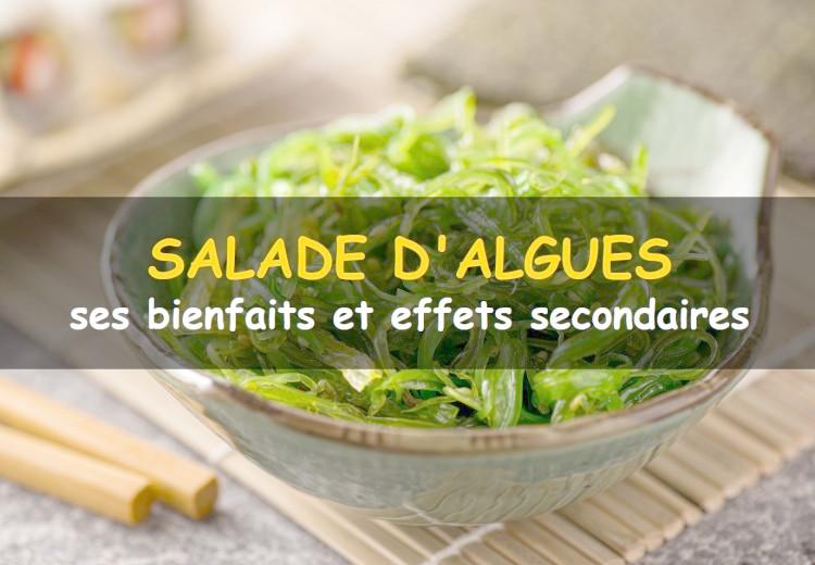 Les bienfaits et effets secondaires de la salade d'algues