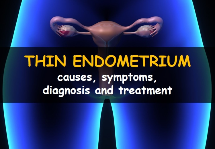 Thin endometrial lining: causes, symptoms, diagnosis and treatment