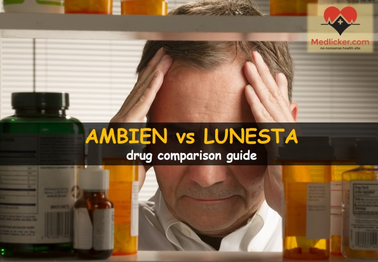 Ambien vs Lunesta: drug comparison guide