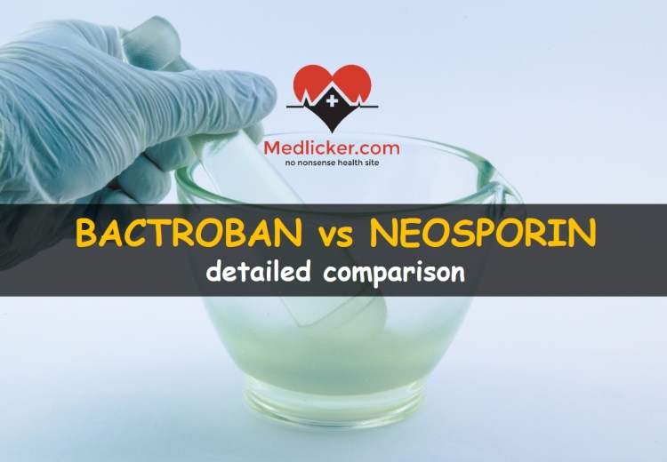 Bactroban (Mupirocin) vs Neosporin compared