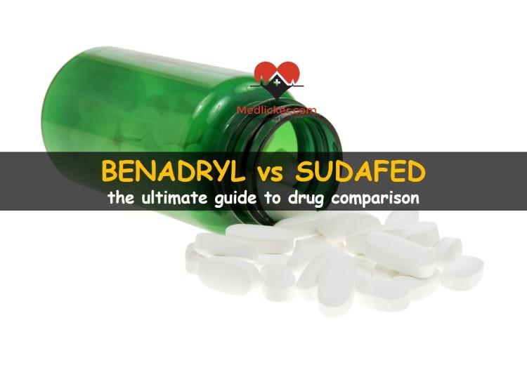 Benadryl vs Sudafed