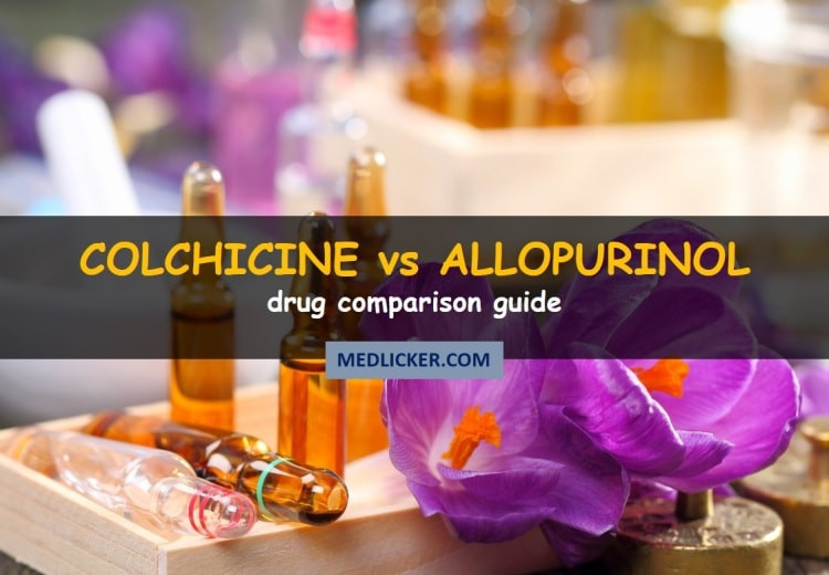 Colchicine vs Allopurinol