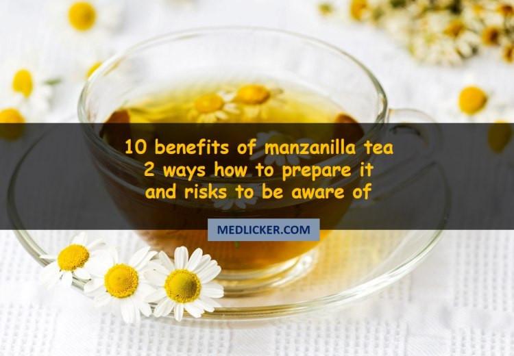 10 Spectacular Benefits of Manzanilla (Chamomile) Tea