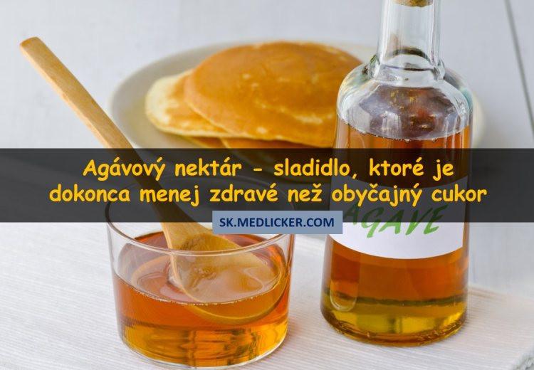 Agávový nektár: sladidlo, ktoré je dokonca menej zdravé než obyčajný cukor