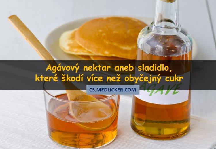 Agávový nektar: sladidlo které je dokonce nezdravější než obyčejný cukr
