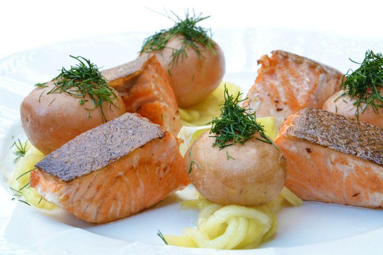 Losos a brambory
