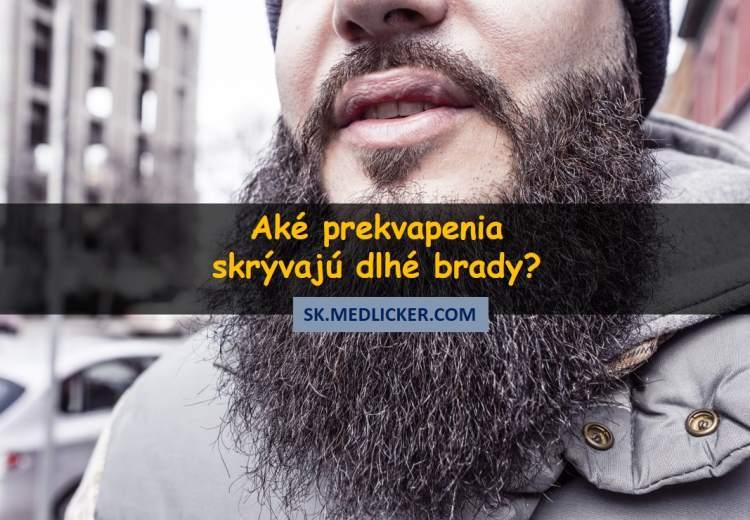 Aké prekvapenia skrývajú dlhé brady?