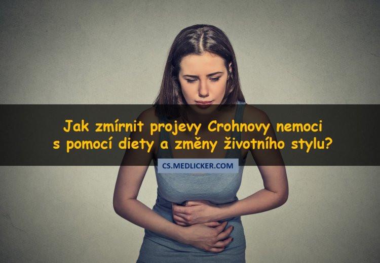 Celostní léčba Crohnovy choroby, co jíst a co ne?