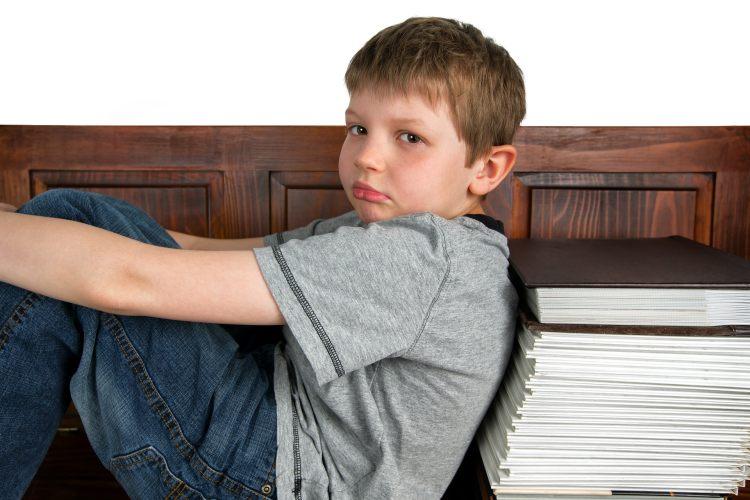 Smutné dítě s hyperaktivitou