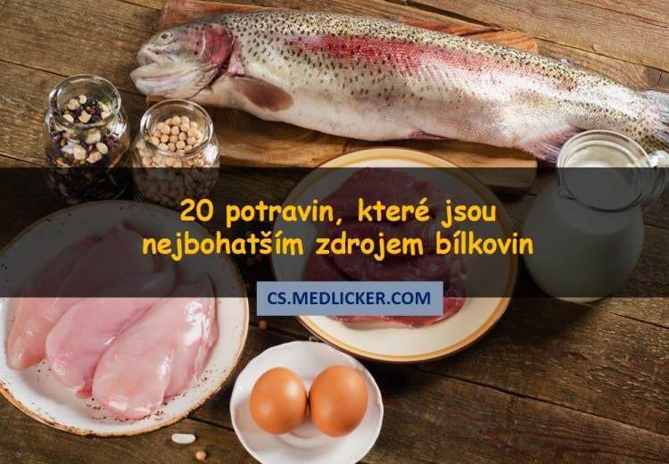 20 vynikajících potravin, které jsou bohaté na bílkoviny