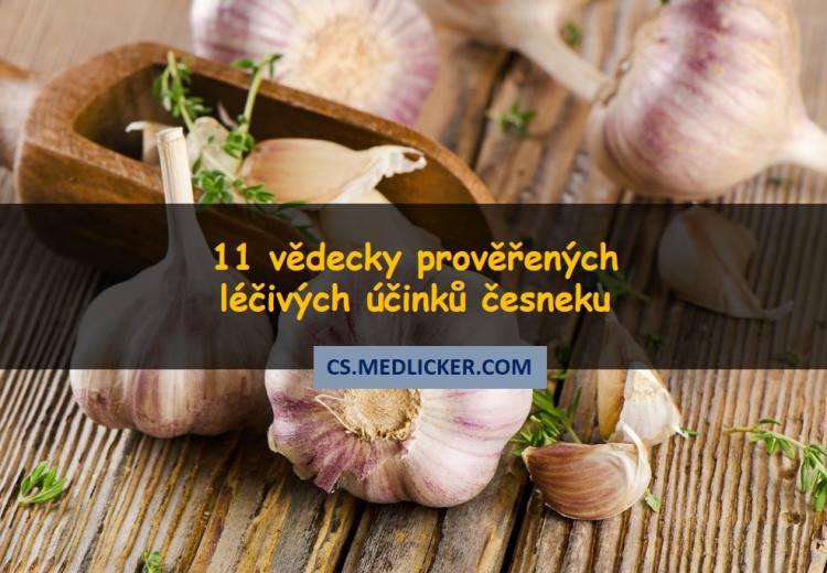 11 prověřených léčivých účinků česneku