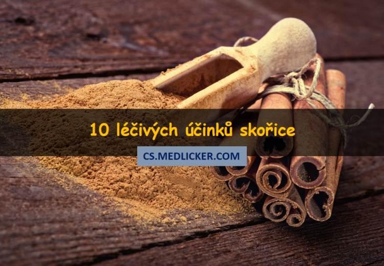 Skořice jako lék aneb 10 vědecky potvrzených příznivých účinků skořice na zdraví