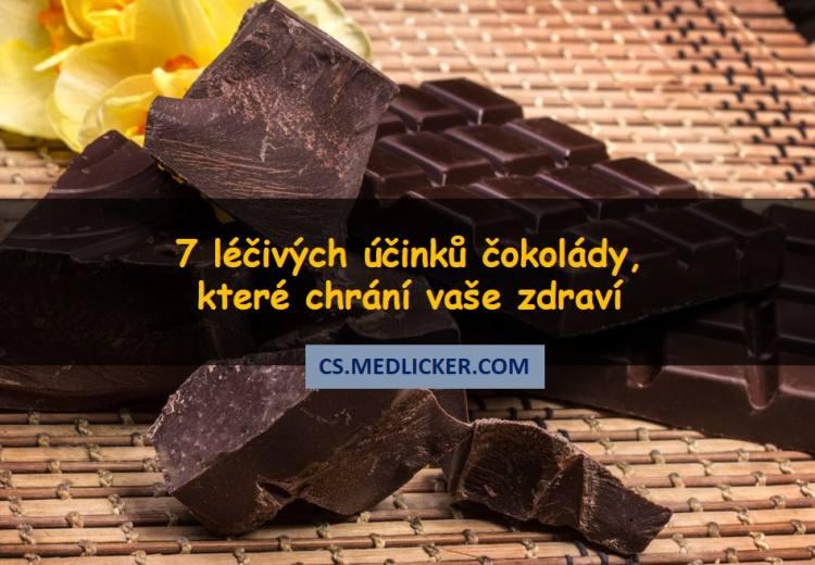 Proč je hořká čokoláda zdravá? Tady je 7 pozitivních účinků čokolády na zdraví.
