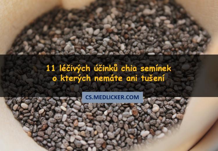 11 prověřených léčivých účinků chia semínek