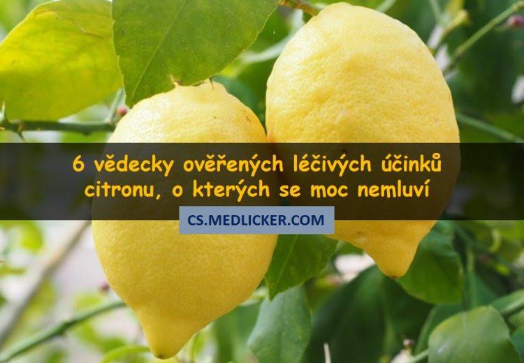 Citron a jeho vliv na zdraví