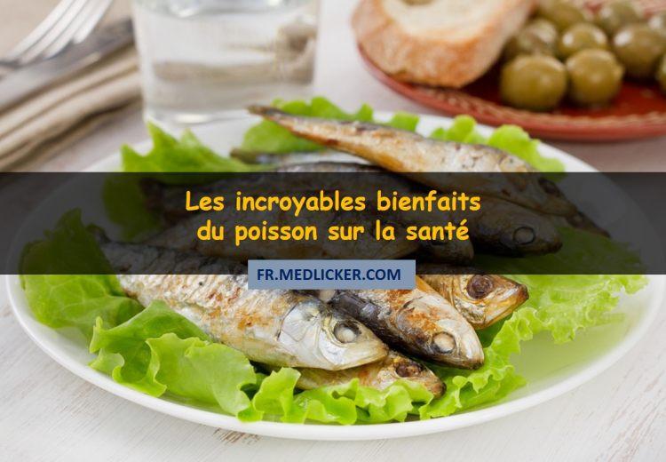 11 incroyables bienfaits du poisson sur la santé