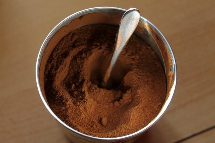 Kávový prášek