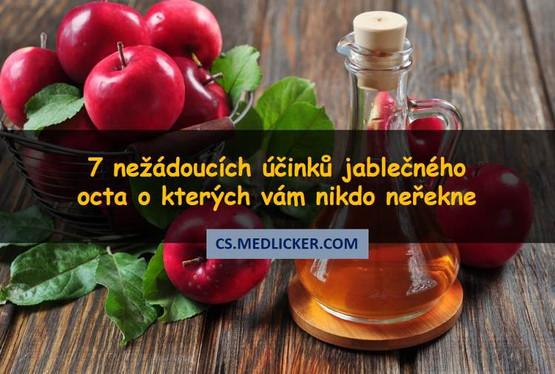 7 nežádoucích účinků spojených s nadměrným užíváním jablečného octa