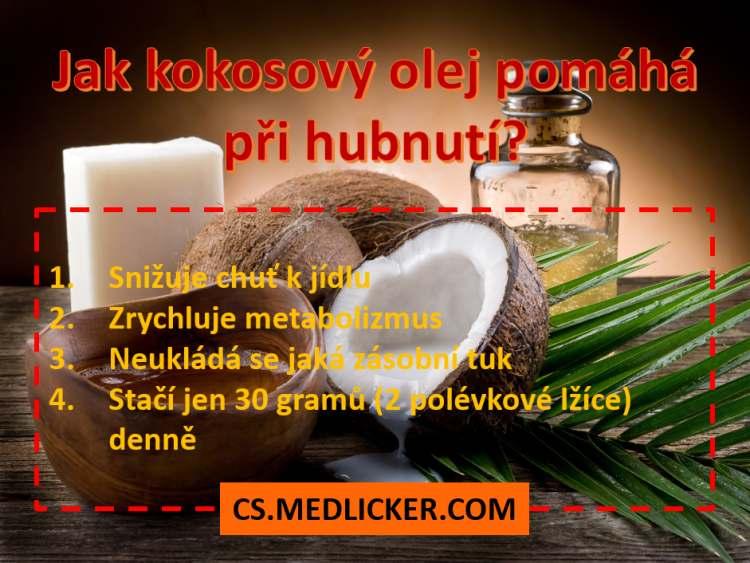 Kokosový olej a hubnutí