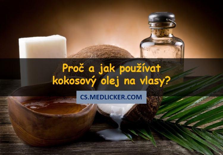 Použití kokosového oleje na vlasy - tipy a rady
