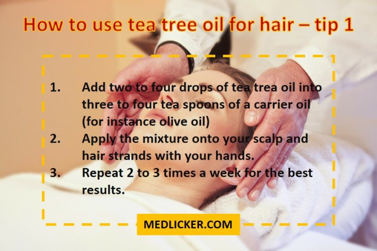 Tea tree oil and sex