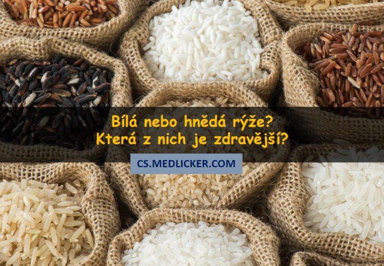 Bílá vs hnědá rýže - která je pro zdraví lepší?