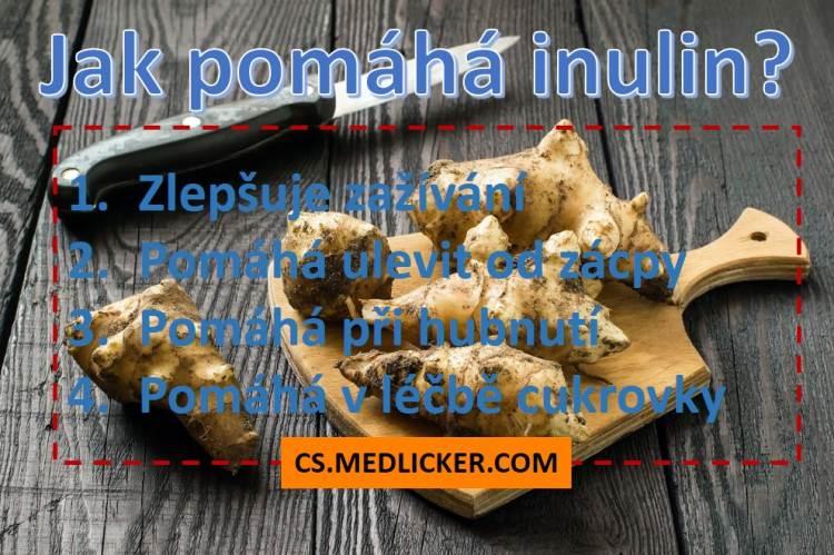 Jak pomáhá inulin