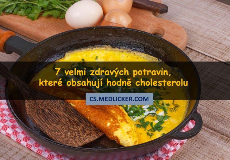 7 velmi zdravých potravin bohatých na cholesterol