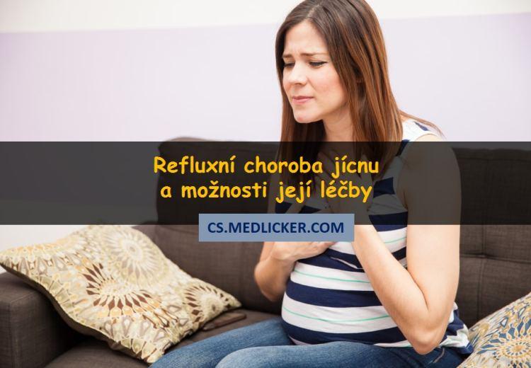 Co je refluxní choroba jícnu, jaké jsou její příčiny a možnosti léčby?