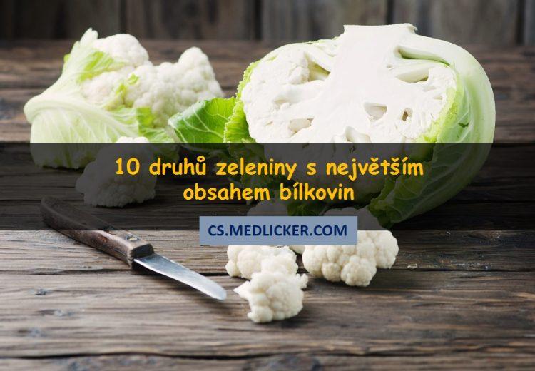 Množství bílkovin v zelenině aneb 10 rostlin s největším obsahem bílkovin