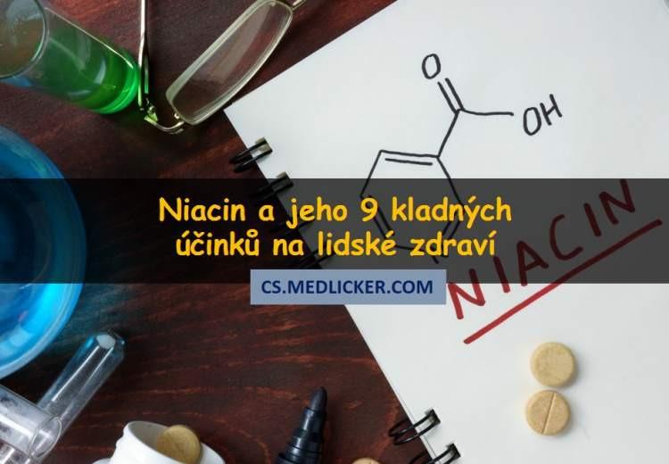 Co je niacin a jaké jsou jeho účinky?