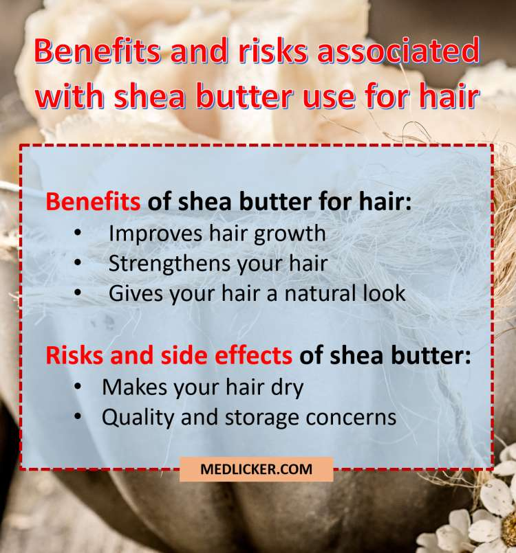 Benefits and risks of shea butter use for hair