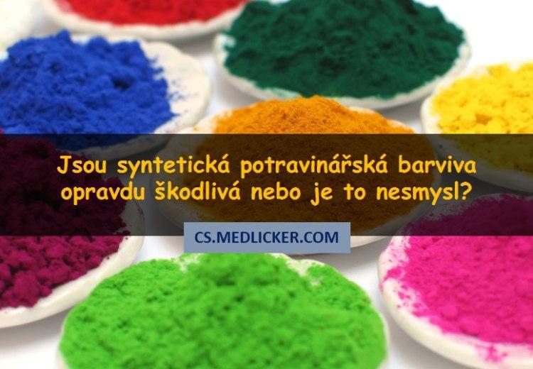 Umělá potravinářská barviva: škodí nebo ne?
