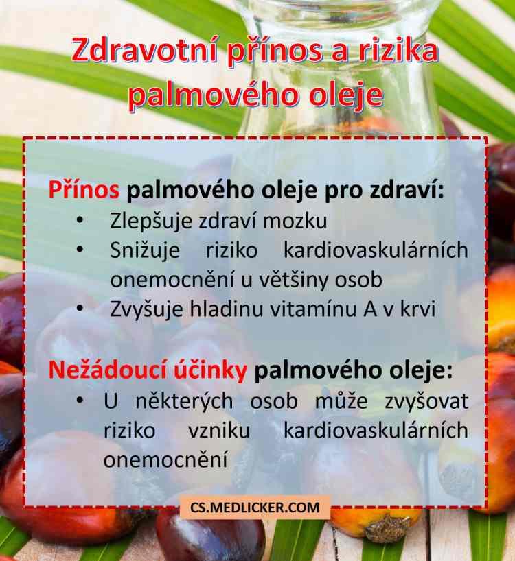 Zdravotní přínos a rizika palmového oleje