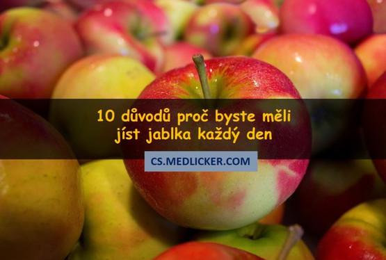 10 důvodů proč jíst jablka každý den