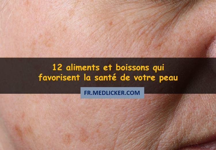 Les 12 meilleurs aliments pour une peau saine