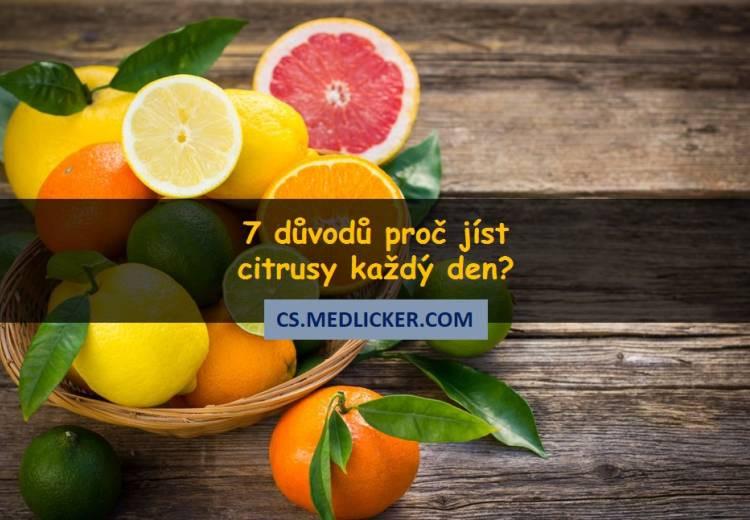 7 důvodů proč jíst více citrusů