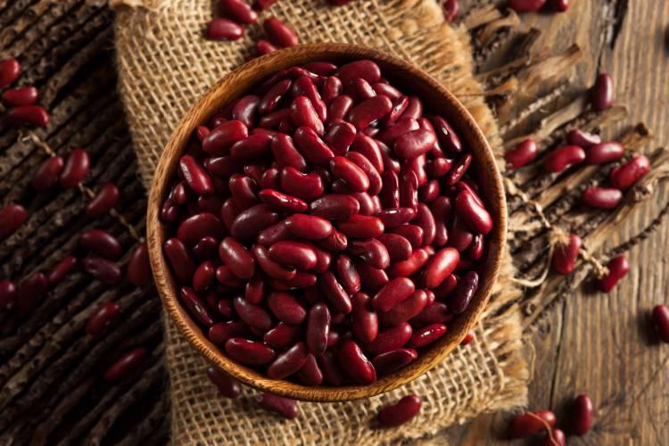 Červené fazole jsou také bohatým zdrojem vlákniny