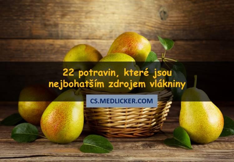 22 potravin s vysokým obsahem vlákniny